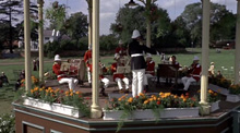 The Bandstand on Englefield Green.