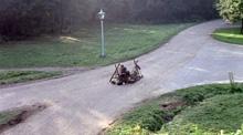 Roadworks on the Cooper's Hill Lane?