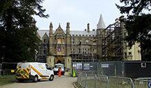 Work underway on President Hall
